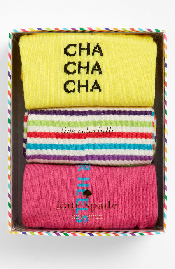 Give a friend an extra pep in their step with this cute Kate Spade 'holiday' socks trio ($30). The best part? Order by Dec. 21 for free shipping and Christmas Eve delivery.