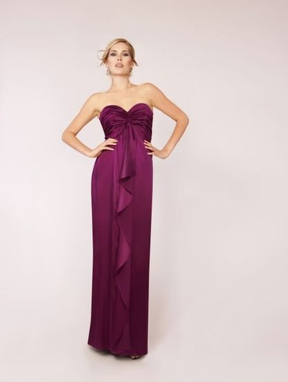 Seraphine Maternity Strapless Evening Gown
