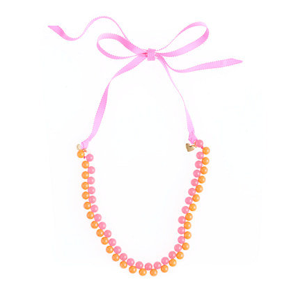 Crewcuts Two-Color Bauble Necklace