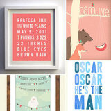 Decor Trend: Personalized Nursery Wall Art