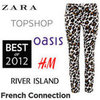 Most Popular High Street Label of 2012