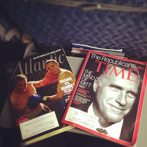 On our way to the Republican National Convention, we (POPSUGAR Love & Sex) caught up on some political reading.