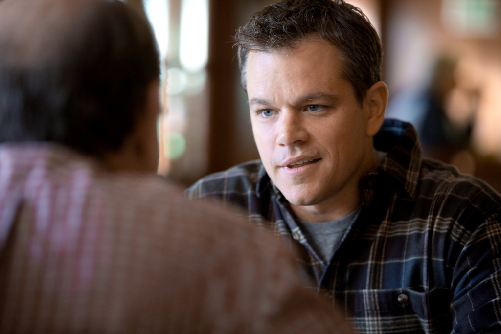 Matt Damon in Promised Land.