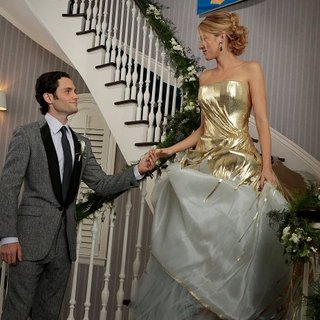 Serena and Dan's Wedding Pictures on Gossip Girl