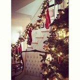 Parenthood's Erika Christensen showed off her holiday decorations.  Source: Instagram user erikachristensen