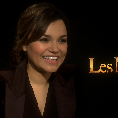 Samantha Barks Les Miserables Video Interview