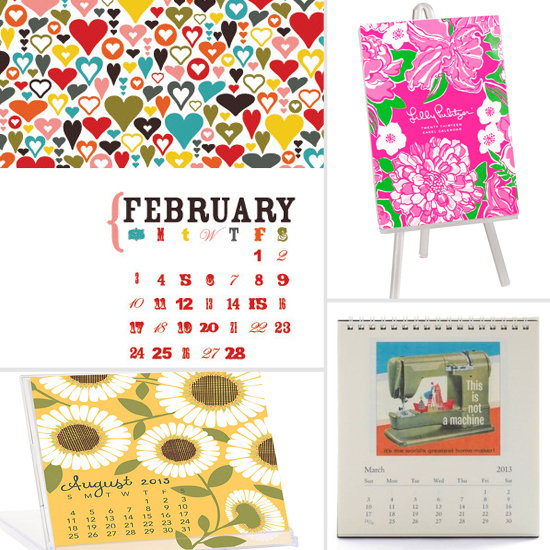 Stylish Desk Calendars to Start the New Year Right