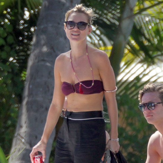 See Kate Moss' Sexy Bikini Style in St Barts!