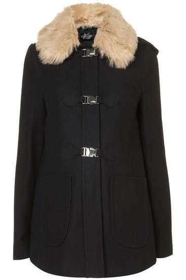 Topshop Emmie Fur Lined Coat