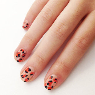 DIY Leopard Print Nail Art How To
