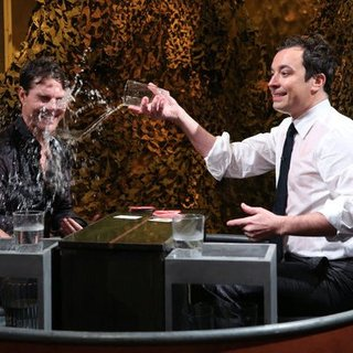 Tom Cruise and Jimmy Fallon Water War
