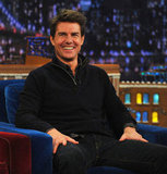 Tom Cruise appeared on Late Night With Jimmy Fallon.