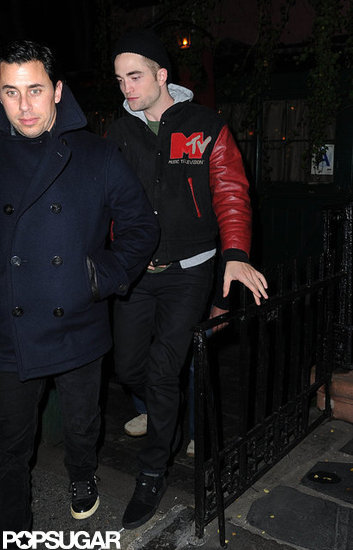 Robert Pattinson went to NYC's Waverly Inn.