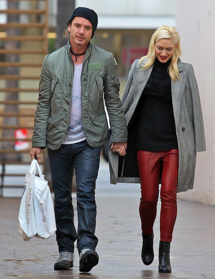 Gwen Stefani and Gavin Rossdale did some shopping.