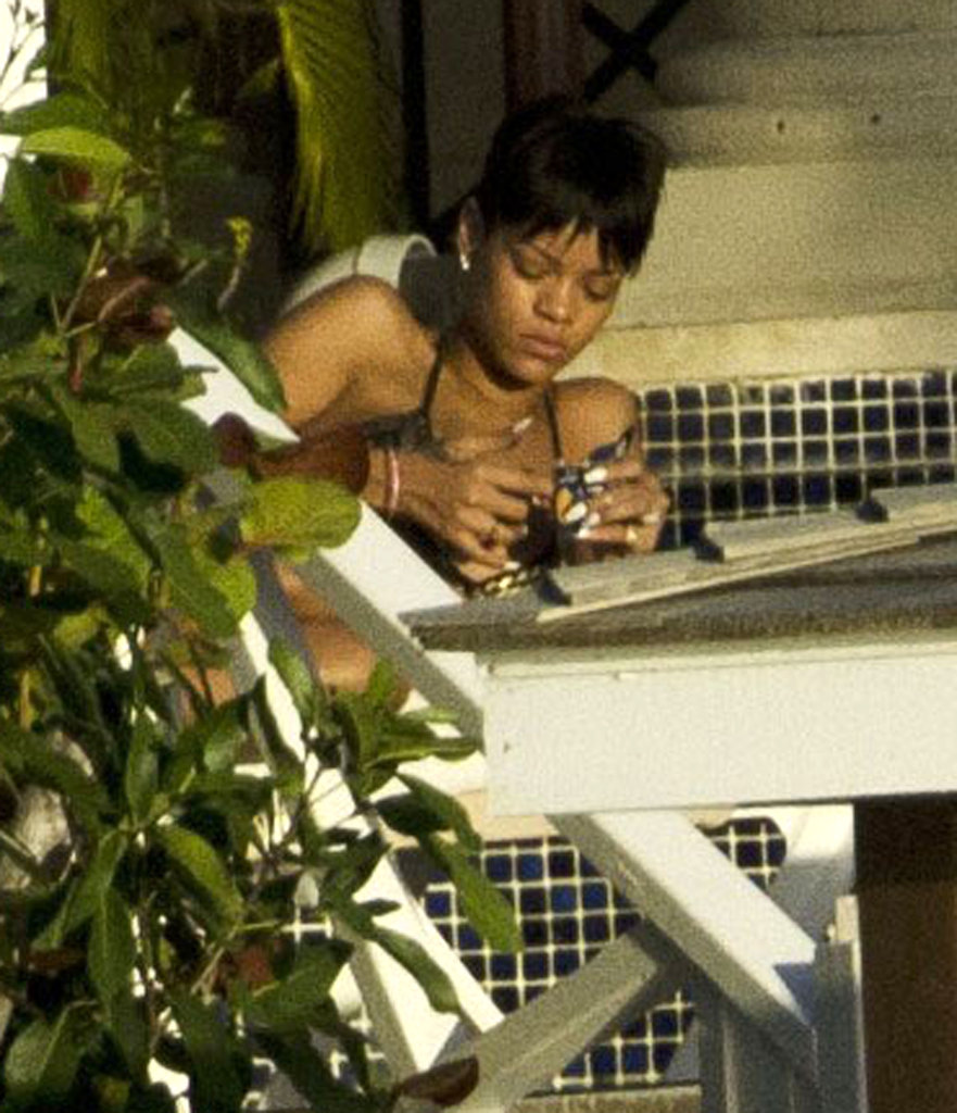 Rihanna Returns to Barbados For Some Bikini Time on the Beach