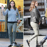 Jennifer Garner Splits Her Day Between Shopping and the Studio