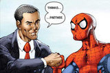 Spidey Meets the President!