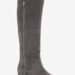 These BCBGMAXAZRIA gray suede over-the-knee boots ($95, originally $189) are dually cool: they have a great exposed-zipper detail and a comfy hidden wedge heel.