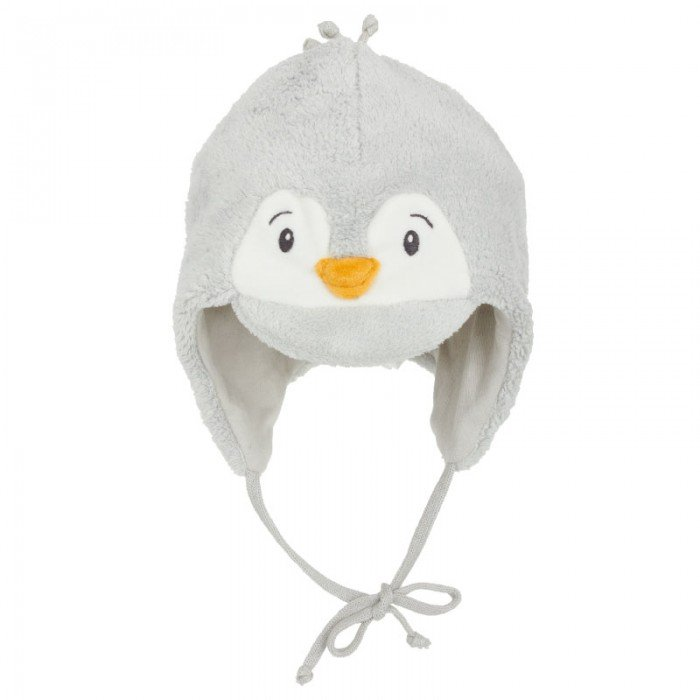 Sterntaler Pale Blue Penguin Hat