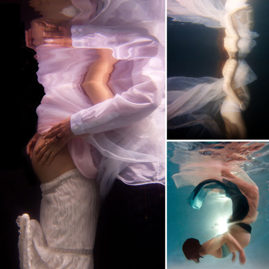 Underwater Maternity Photos