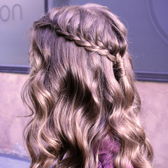 A Cascading Crown With Curls