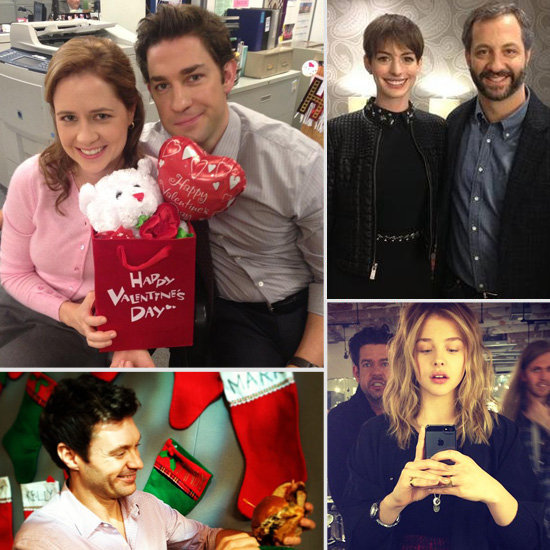 Fun Behind-the-Scenes Pictures From Stars This Week