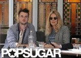 In March, Sienna Miller and Tom Sturridge grabbed food at a café in London.