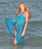 Erin Heatherton Gets the Bikini Blues in Miami