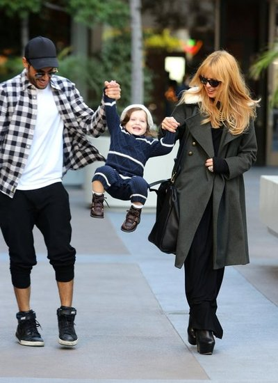 Rachel Zoe and Joey Maalouf gave Skyler Berman a swing.