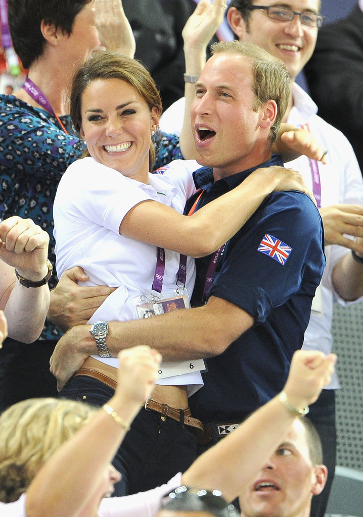Favorite Royal and PDA Moments: Will and Kate at the Olympics