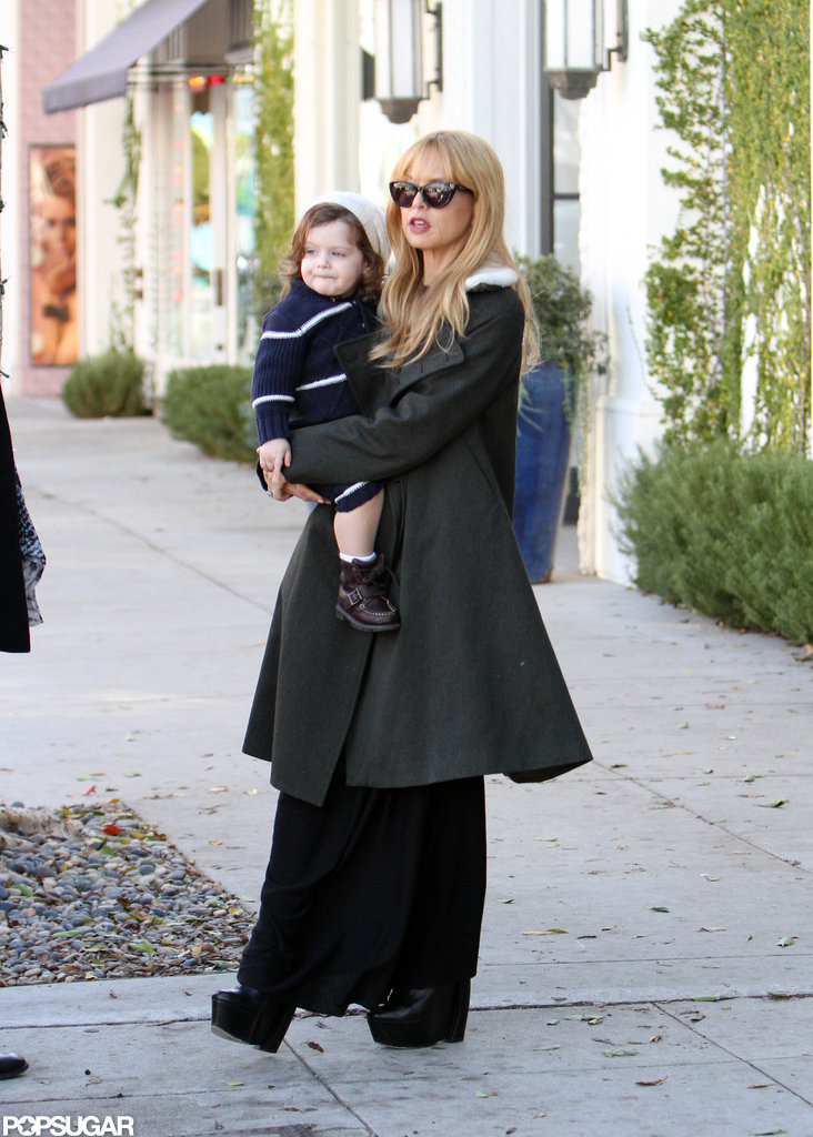 Rachel Zoe and Skyler Berman hit Robertson Boulevard.