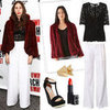 New Year's Eve Outfit Ideas For White Pants