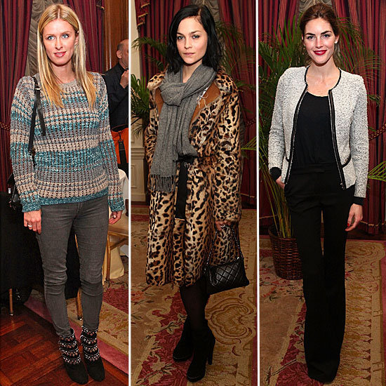 Nicky Hilton, Leigh Lezark, and Hilary Rhoda all turned out to celebrate Derek Blasberg's new line of stationery.