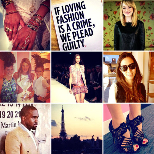 Fashion Instagram Pictures 2012