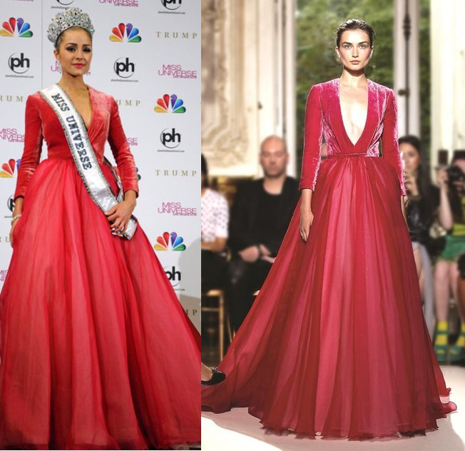 Miss USA Olivia Culpo Wins Miss Universe 2012 in Georges Hobeika Gown