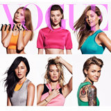 Miss Vogue Gets Social With Nine Cover Girls for December
