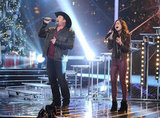 Tate Stevens and Carly Rose Sonenclar performed together.