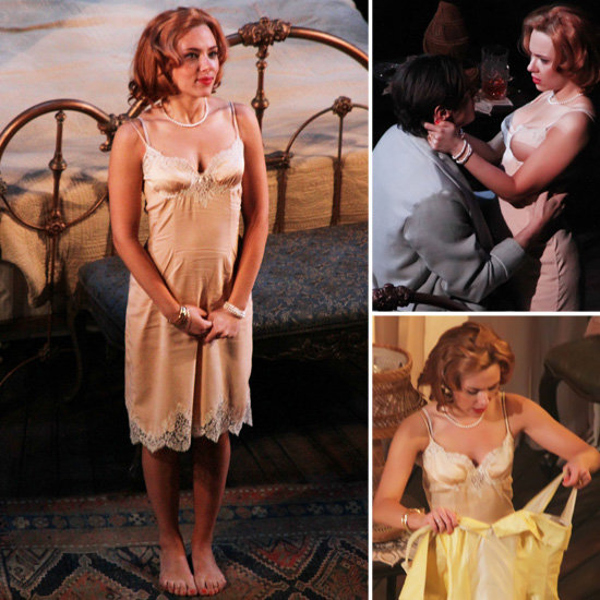 Scarlett Strips Down to Lingerie and Shows PDA on Broadway