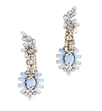 These Lulu Frost for J.Crew crystal earrings ($118) will add a shimmery finishing touch to just about any look.
