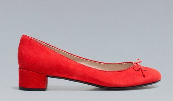 Zara High Heel Ballerina ($70, originally $90)