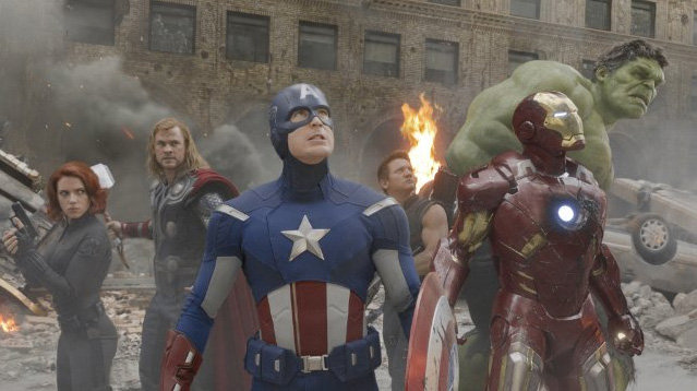Best Action Movie . . . The Avengers!
