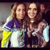 Stylist Romy Frydman caught up with Kate Waterhouse. Source: Instagram user katewaterhouse7