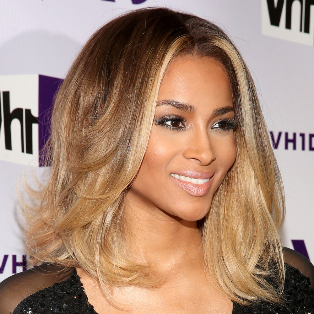 Ciara's smoky eye
