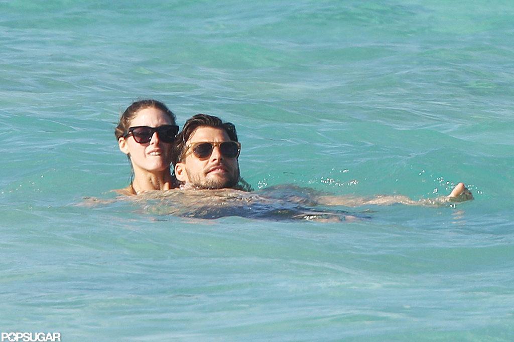 Olivia Palermo Shows PDA in a Bikini With Johannes Huebl