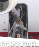 Exclusive: Jennifer Aniston and Justin Head to Christmas in Mexico