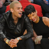 Rihanna and Chris Brown Pictures at Lakers Christmas Game