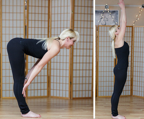 Forward Lift to Mountain Pose