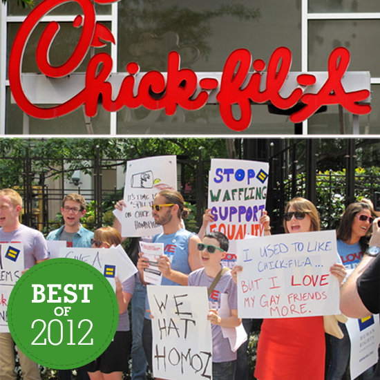From Anti-Gay Chick-fil-A to Pink Slime: Food News Highlights of 2012