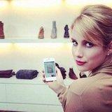 "Emma Roberts took photos of her ""fashion wishlist."" Source: Instagram user emmaroberts6"
