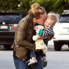 Hilary Duff Shopping With Mike and Luca Comrie | Pictures